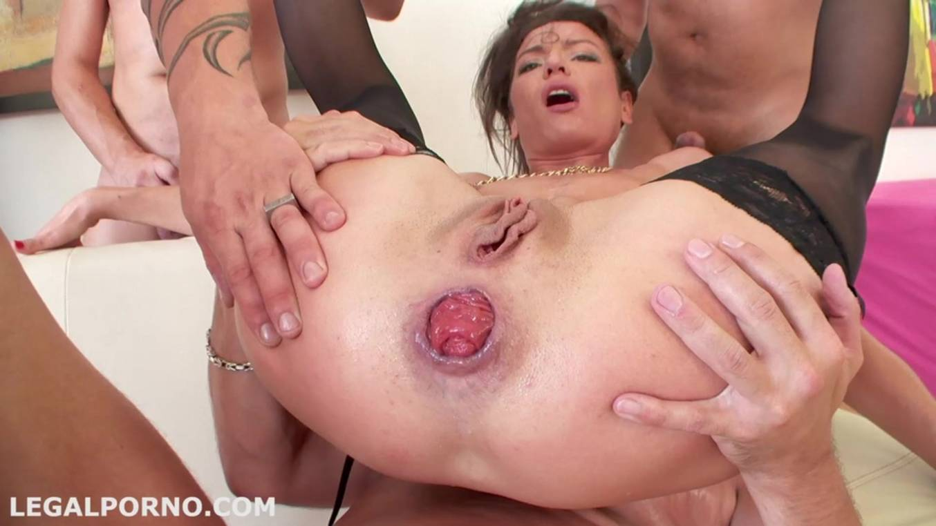 Prolapse gaping anal party with mature lesbian moms 1