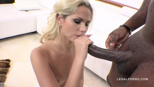 Katie Montana interracial gangland style 3on1 DP RS190
