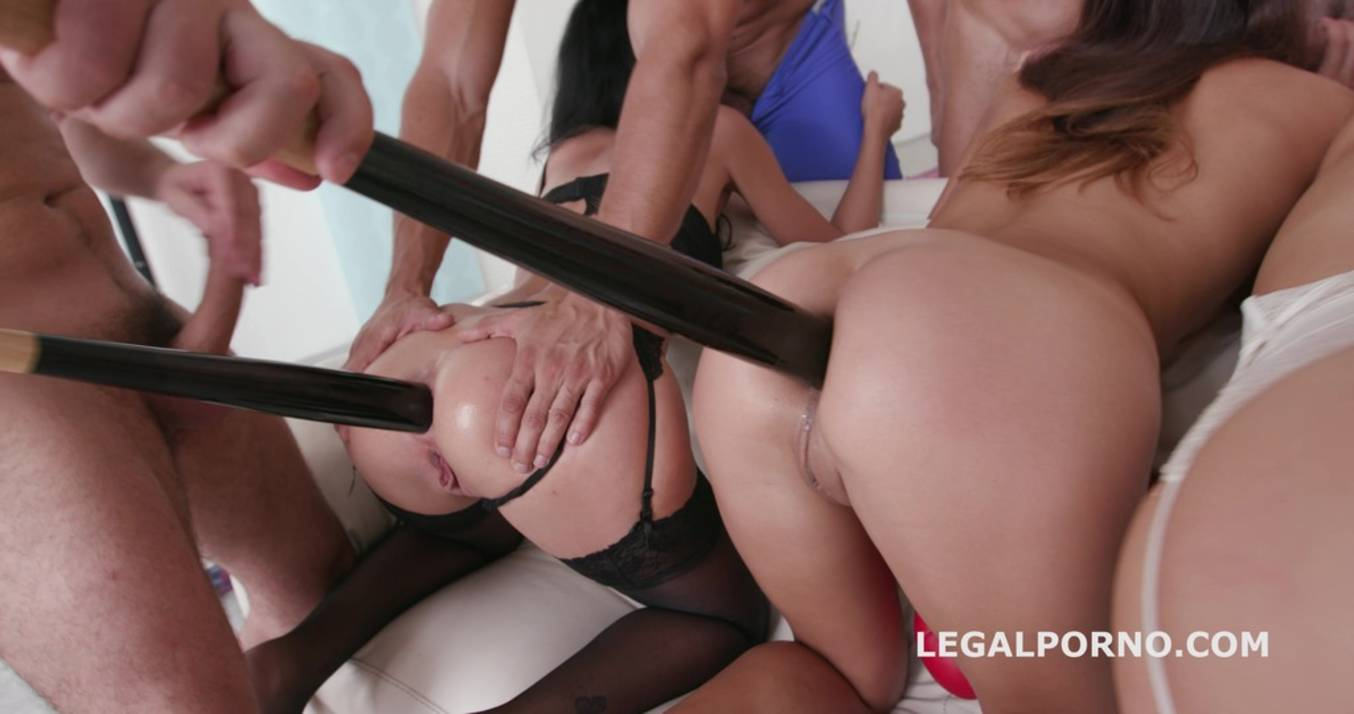 LegalPorno - Giorgio Grandi - Lara's perversions 9on3 Part #2. All in with anal fisting! Here we are with the top LP sluts! GIO219