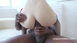 Black Buster, Ginger Fox gets gapes non stop with Mike Chapman. NO PUSSY /BALL DEEP /GAPES GIO209