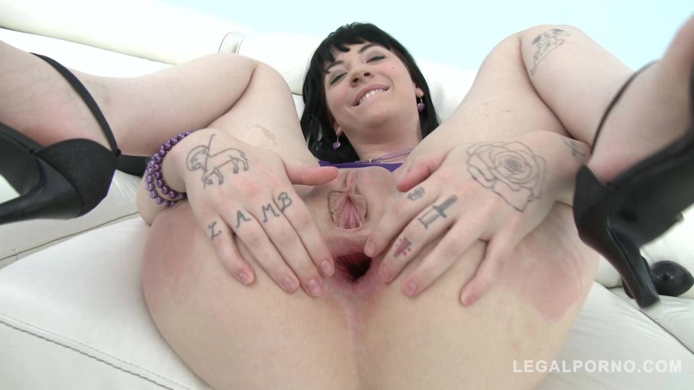 Download LegalPorno - Gonzo_com - Charlotte Sartre anal destruction with DAP & triple penetration SZ1530