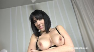 French Slut Mya Lorenn - she loves big black cock and knows how to suck & treat one to the last drop IV034