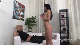 Awesome anal with skinny slut Sofi NR196