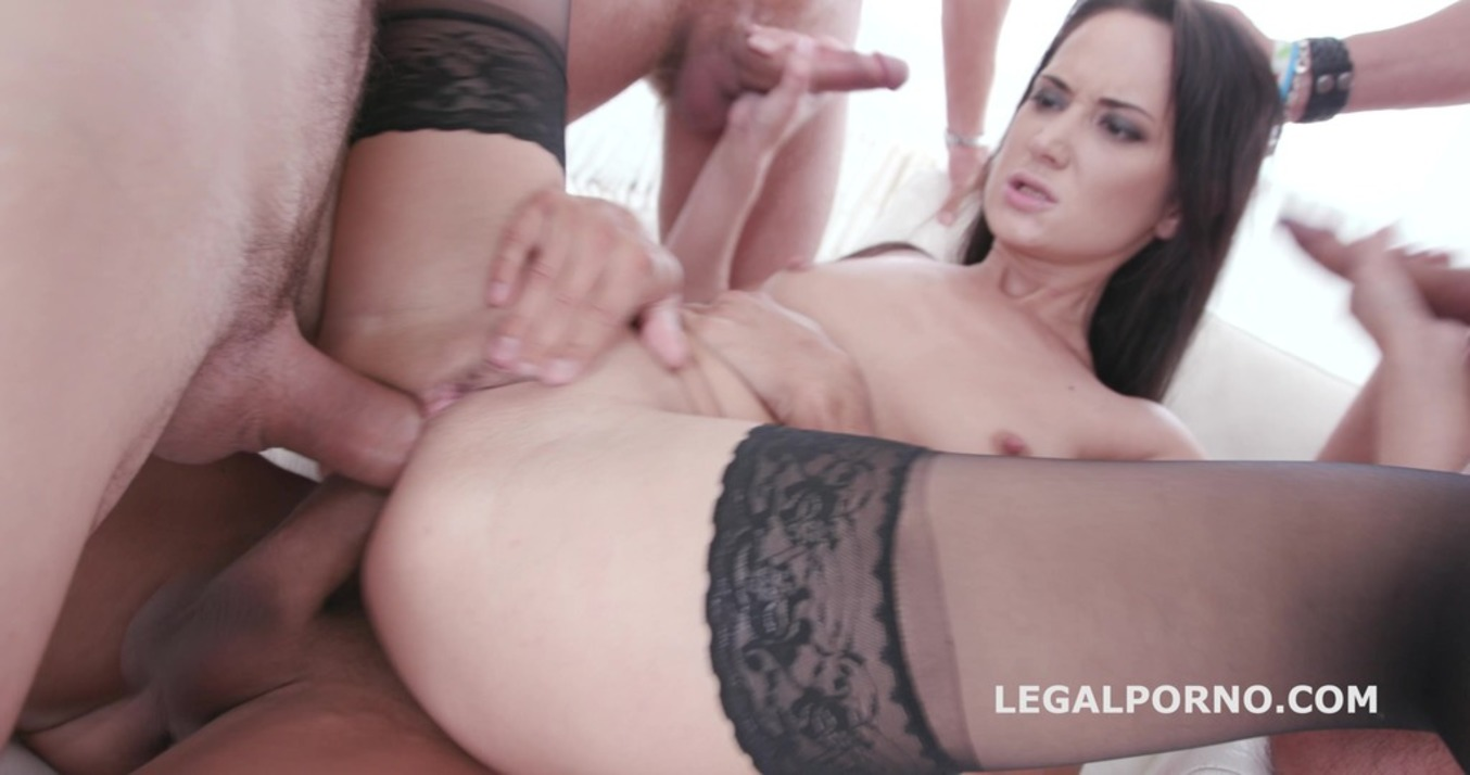LegalPorno - Giorgio Grandi - Total DAP Destruction with Angie Moon, almost only DAP with TP / TAP / Tunnel Vision / Balls Deep Anal / Gapes / Swallow GIO427