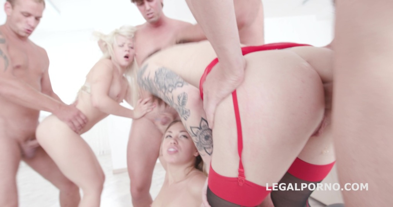 LegalPorno - Giorgio Grandi - Triple Barred With Selvaggia / Monika Wild / Anna Rey - Balls Deep Anal / ATOGM / Crempie To Mounth / Squirt To Mouth GIO441