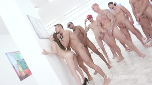 15on1 TP GangBang with Gabriella Balls Deep Anal / DAP / TP / Gapes / Final DP / 17 Cumshots with Facial and Swallow GIO455 screenshot