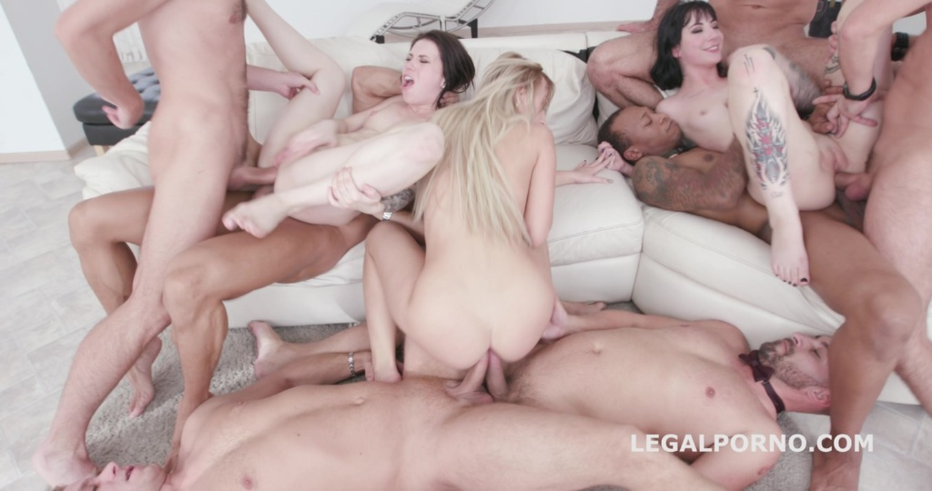 LegalPorno - Giorgio Grandi - Anal Triumvirate #2 - 7on3 Monika Wild / Charlotte Sartre / Kira Thorn No Pussy / Gapes / Triple DAP / Monster Squirt GIO494