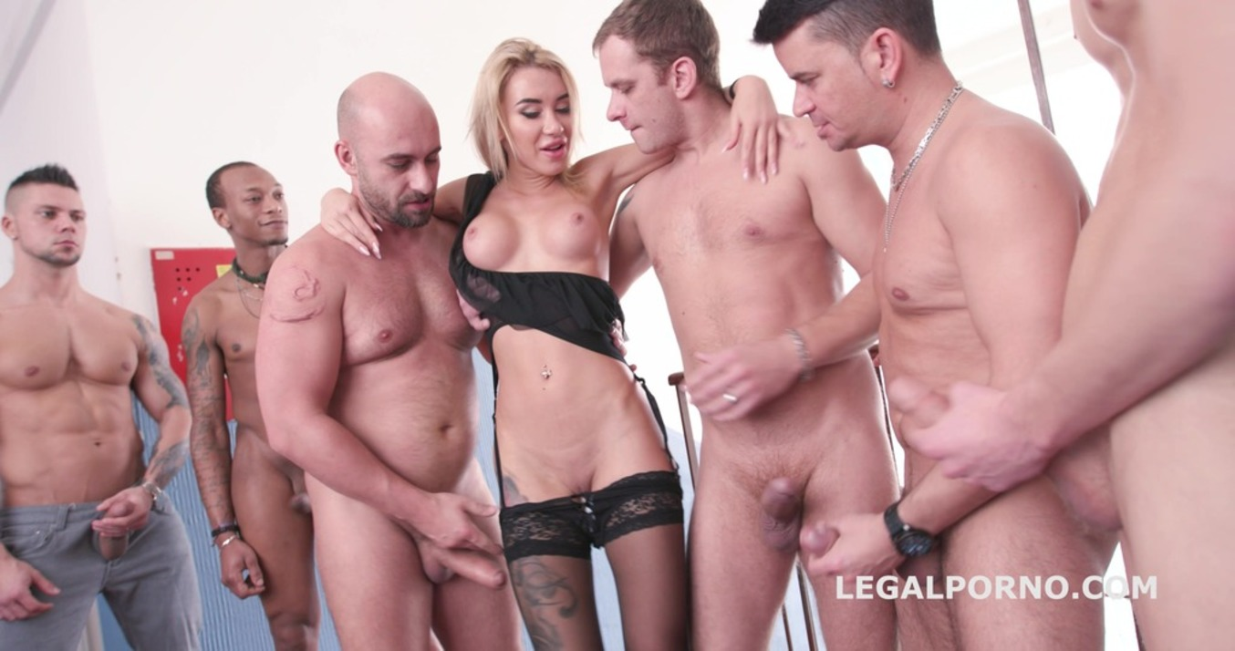 LegalPorno - Giorgio Grandi - Katrin Tequila 10on1 Double Anal Gangbang / Balls Deep Anal / ATM / 10 SWALLOWs - Fuck she is so good!!! GIO541