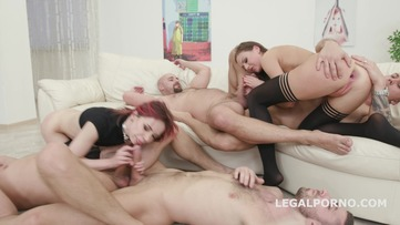 Double Addicted with Anal Fisting Tina Kay & Kira Roller Balls Deep Anal / Anal Fist / Big Gapes / Creampie To Swallow GIO559