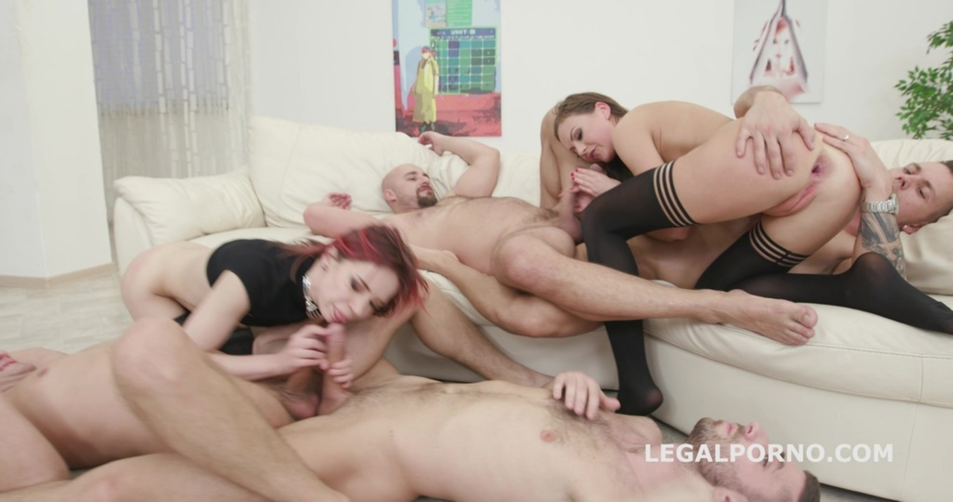 LegalPorno - Giorgio Grandi - Double Addicted with Anal Fisting Tina Kay & Kira Roller Balls Deep Anal / Anal Fist / Big Gapes / Creampie To Swallow GIO559