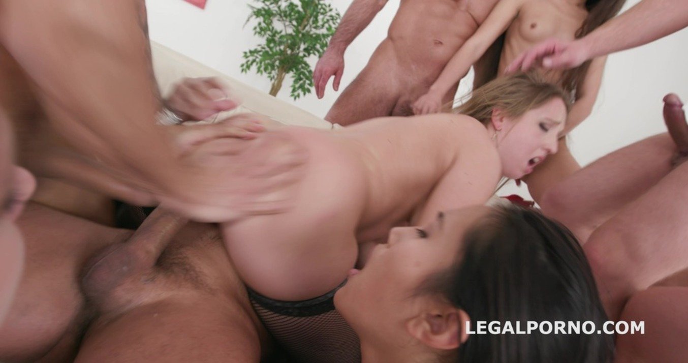 LegalPorno - Giorgio Grandi - Outnumbered both ways #2 With Anna De Ville / May Thai / Anya Akulova Triple DAP / ATOGM / Anal Fisting GIO597