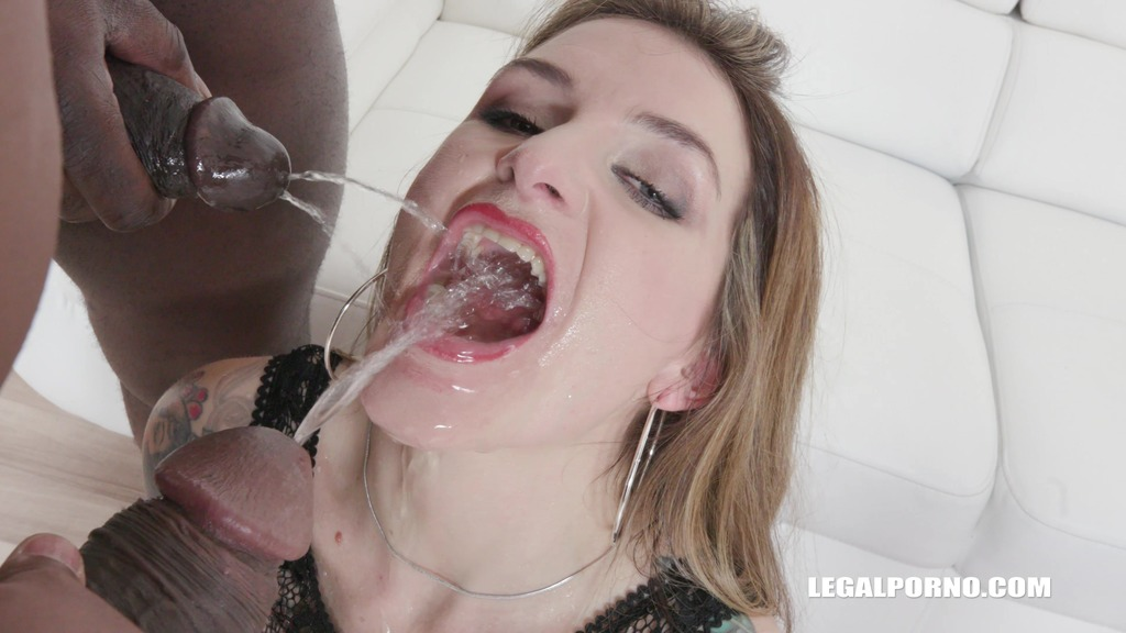 LegalPorno - Interracial Vision - London calling Adreena Winters for BBC cockshower & double pleasure IV161