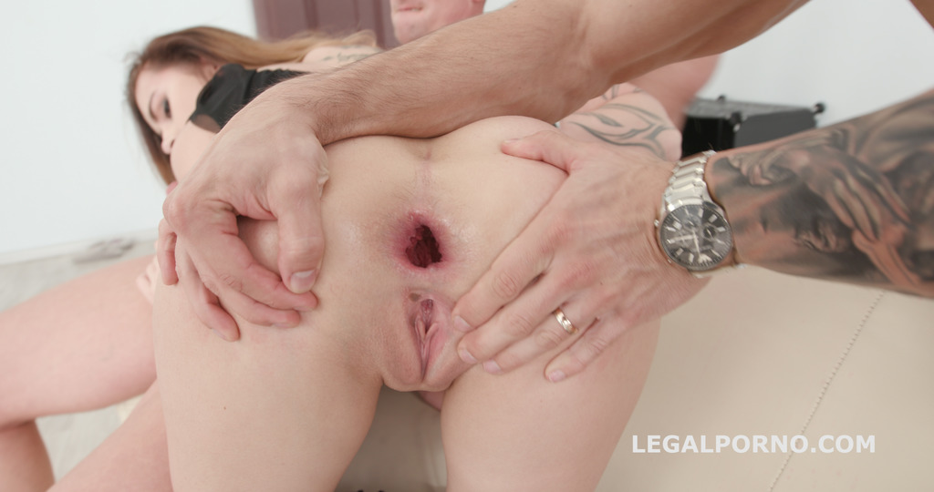 LegalPorno - Giorgio Grandi - 4on1 DAP with Victoria J Balls Deep Anal / DAP / Gapes / Swallow GIO570