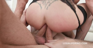DAP Destination 5on1 Natalie Cherry DAP Breaking with Balls Deep Anal / DAP / Gapes / Swallow GIO685 screenshot