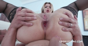 Double Addicted with Jolee Love & Nikky Dream Balls Deep Anal / DAP/ ATOGM / Gapes / Swallow GIO663