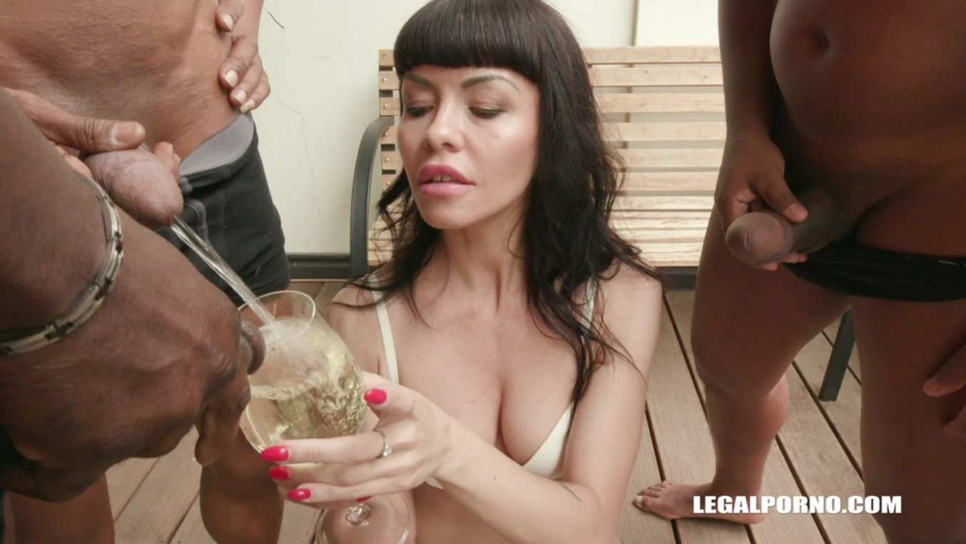 LegalPorno - Interracial Vision - Sasha Colibri discovers black feeling & takes BBC shower IV186