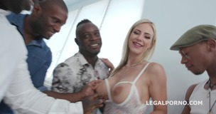 Waka Waka, Blacks are Coming! Natalie Cherry goes full black with Balls Deep Anal / DAP / Gapes / Facial GIO710 screenshot