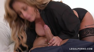 Insatiable Luxury Milf Eva Notty gets her Pussy & Big Tits Fucking Rocked! GP080 screenshot