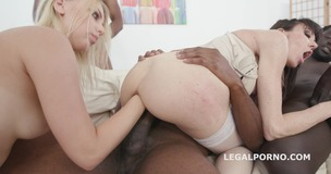 Generational Creampie Kira Thorn Vs Sofia Star, BBC Balls Deep Anal, DAP, Big Gapes, Creampie Cocktail GIO761 screenshot