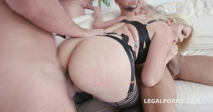 Monsters of DAP Layla Price gets 4on1 Balls Deep Anal, DAP, TP, Gapes, Swallow GIO833 screenshot