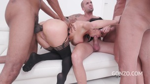 Veronica Avluv insane anal fucking with DP, DAP, DVP & triple penetration SZ2119 screenshot