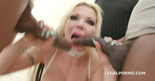 7on1 BBC for Barbie Sins with DAP, TAP, Balls Deep Anal, Gapes, Messy cumshot with swallow GIO836 screenshot