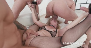 Monsters of TAP, Lisey Sweet gets 4on1 with Balls deep Anal & DAP, TAP, Dapes, Swallow GIO816 screenshot