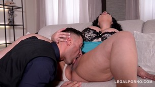 Voluptuous bombshell Anastasia Lux fucked balls deep by police officer GP457 screenshot