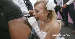 Slammed brides, Kira Thorn No Pussy, Balls Deep Anal and DAP, Gapes, Swallow GIO889 screenshot