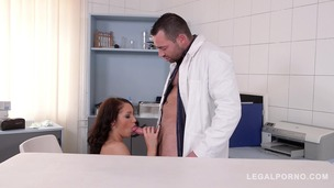 Patient Felicia Kiss hardcore fucked at the XXX DDF clinic for horny babes GP586 screenshot