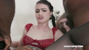 Lydia Black loves black cocks in her ass IV298 screenshot