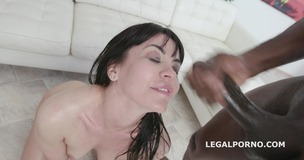 Waka Waka Blacks are Coming, Sasha Colibri gets 4 BBC, balls deep anal, DAP, Gapes, Facial and Swallow GIO1024 screenshot