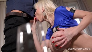 Big busty birthday present leads to Hardcore titty fucking with Sandra Star GP713 screenshot