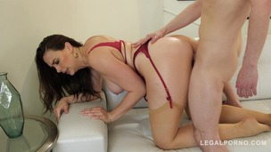 Absolutely hot stepmom Chanel Preston lets stepson fuck her mature pussy GP717 screenshot