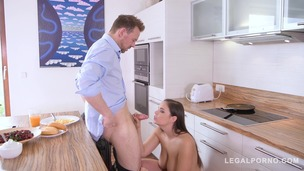 Hard & deep anal penetration makes curvy Sofia Lee's big natural tits shake GP750 screenshot