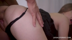 Dracula's kinky daughter Lena Reif rides big cock with her tight wet pussy GP769 screenshot