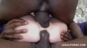 Haley Reed loves dick she takes 3 BBCs BALLS DEEP super horny and nasty! I love this girl! AA043 screenshot