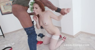 Balls Deep, Red Linx meets Dylan Brown for Anal Session with Gapes, Creampie and Swallow GIO1202 screenshot