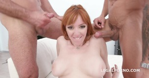 4on1 Classic with with Lauren Phillips Balls Deep Anal, Gapes, DAP and Facial GIO1140 screenshot
