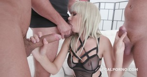 Balls Deep, Polina Maxim 3on1 Balls Deep Anal and DP, Gapes, ATM and Swallow GIO1236 screenshot