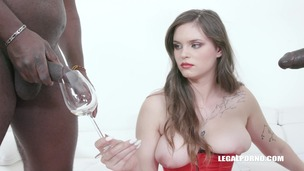 Taylee Wood is back to taste african champagne IV420 screenshot