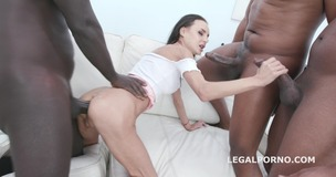 Waka Waka Blacks are coming Aletta Black gets 4 BBC Balls Deep Anal, DAP, Gapes and Facial GIO1358 screenshot