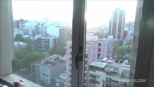 Anal fucking and fisting by the window with young blonde slut Helena Moeller screenshot