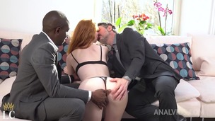 Redhead slut Lenina Crowne gets shared with BBC by boyfriend OTS028 screenshot