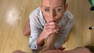 Claudia Mac with BF fuck & share piss after foosball match OTS292 screenshot