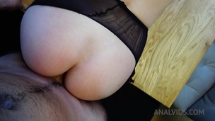 Kitchen anal fuck & creampie with Mary Wet OTS312 screenshot
