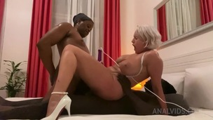 Angel Wicky gets Double Penetration by two BBC OTS352 screenshot