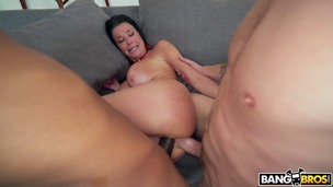 BangBros Veronica Avluv Squirts From Anal screenshot