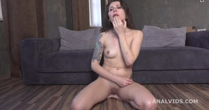 3on1 DP for Valletta Vesta, Balls Deep Anal, Gapes and Cum in Mouth GL197 screenshot