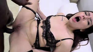 Intense first anal with BBC for Nicole Stark NT023 screenshot